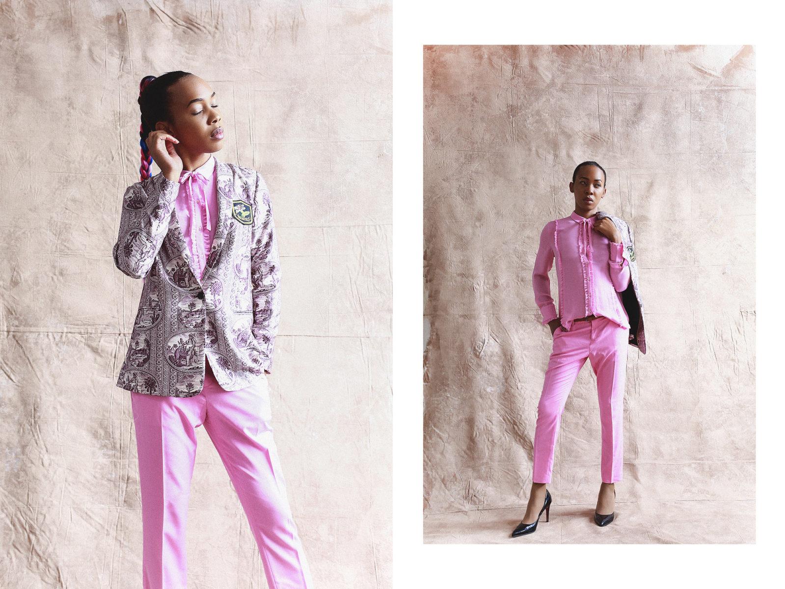 Outlander by Evelina Fietisova Brisbane Fashion photographer Evelina Photography Transgender female model Scotch & Soda Amsterdam 2019 Collection