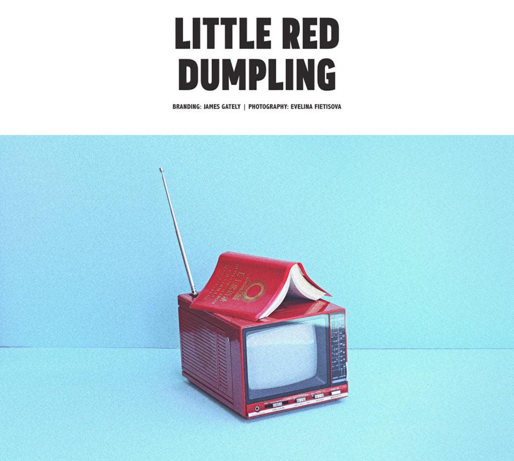 Little Red Dumpling Photography by Evelina Fietisova Branding by James Gately